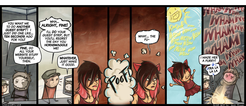 Guest Strip by Scott Ferguson from Nerf This!